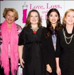 Jenny Allen, Zuzanna Szadkowski, Amanda Setton, Eve Plumb, and Maddie Corman at the opening for Love, Loss & What I Wore